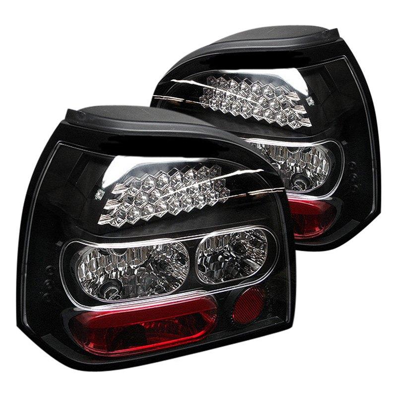 spyder alt yd vg92 led bk black red led tail lights. Black Bedroom Furniture Sets. Home Design Ideas