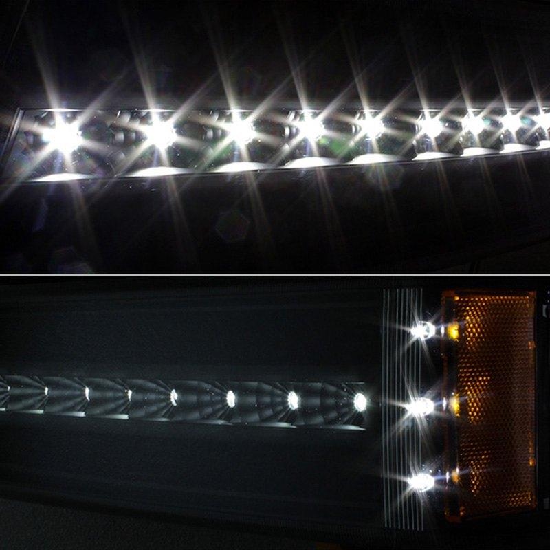 Spyder® CBL-JH-CSIL03-LED-BK - Black LED Turn Signal/Parking Lights