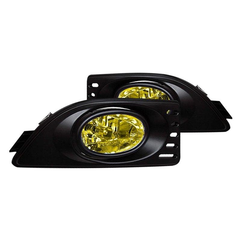 Acura RSX 2005-2006 Yellow OE Style Fog Lights