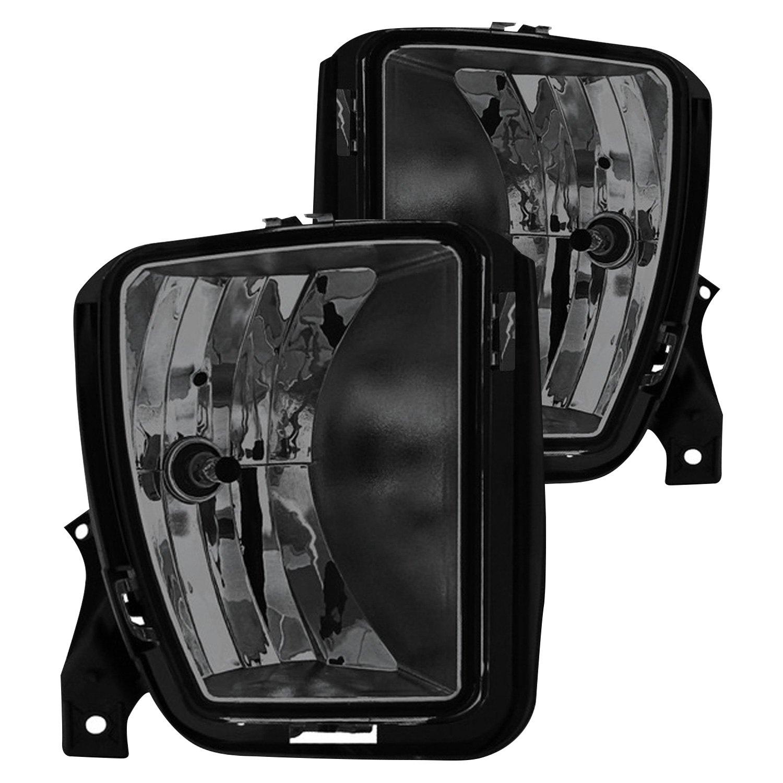 Spyder FL DR13 SM Smoke Factory Style Fog Lights