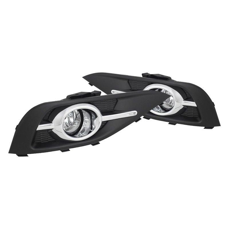 Spyder Honda Cr V 2014 Factory Style Fog Lights