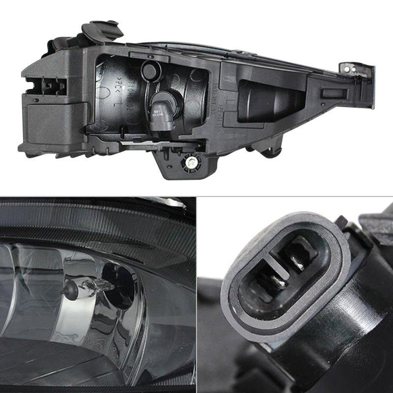 Spyder Hyundai Sonata 2011 Smoke Factory Style Fog Lights