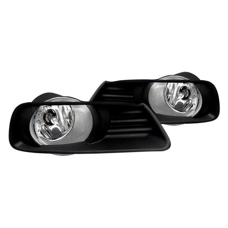 spyder toyota camry ce hybrid le xle 2008 factory style fog lights. Black Bedroom Furniture Sets. Home Design Ideas