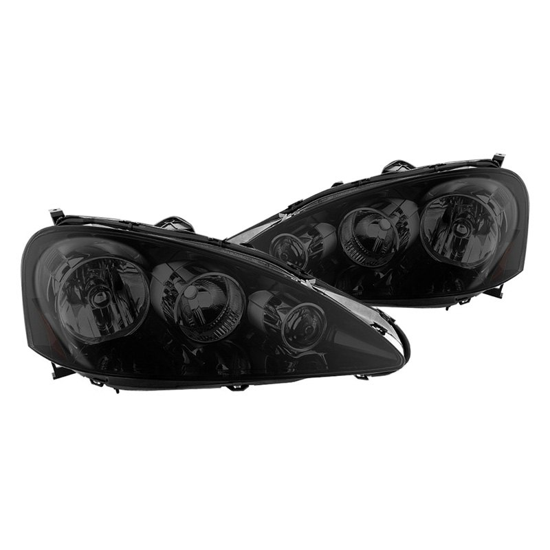 Acura RSX 2006 Black/Smoke Factory Style Headlights