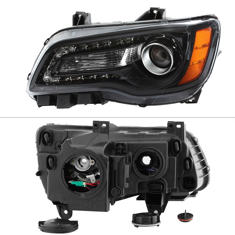 Chrysler 300c With Factory Halogen Headlights: Chrysler 300 / 300C With Factory Halogen