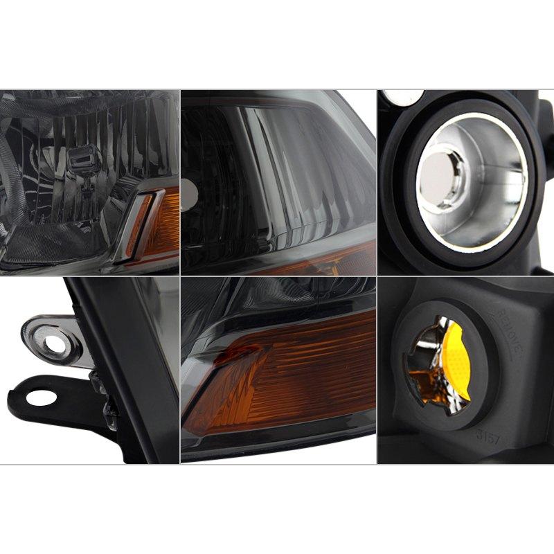spyder dodge ram 1500 without factory quad lamp. Black Bedroom Furniture Sets. Home Design Ideas