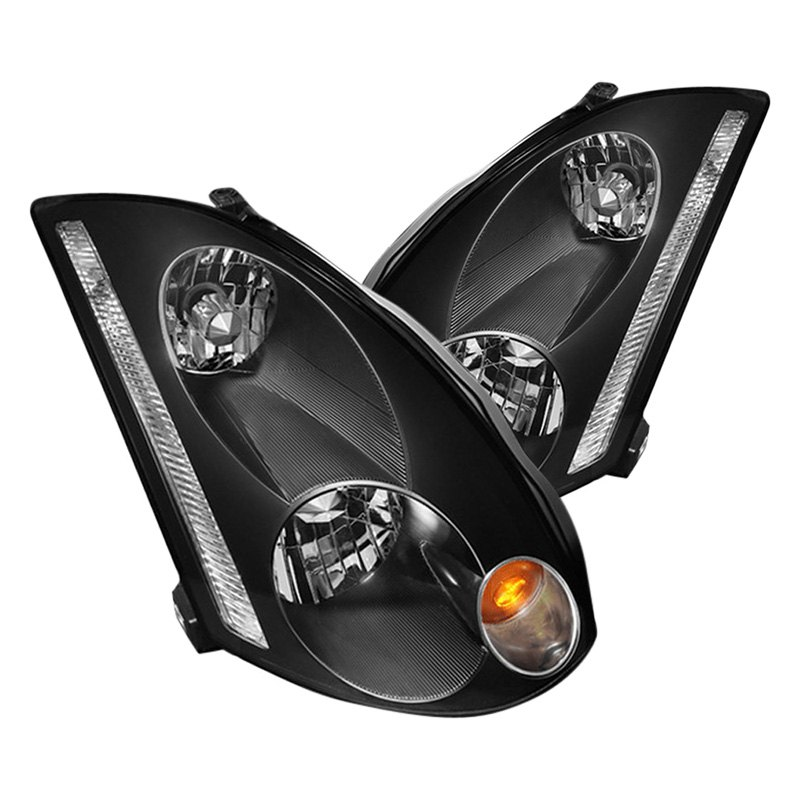 Spyder®   Black Euro Headlights