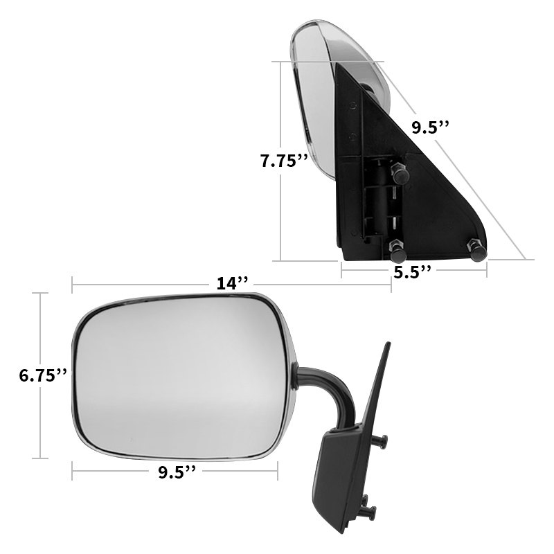1997 Chevrolet Tahoe Exterior: Chevy Tahoe 1997 Side View Mirror