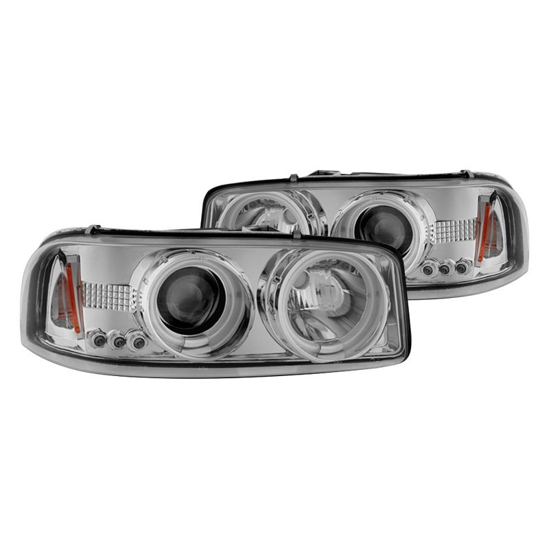 how to change headlight 2005 gmc sierra