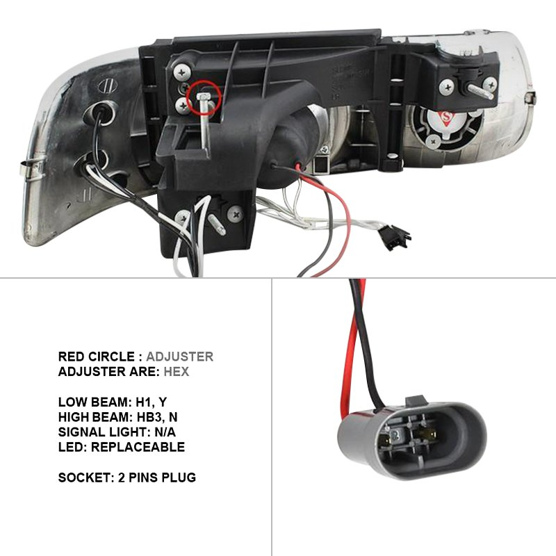 65 pontiac wiring diagram wiring diagram for led projector headlights hid lighting kensun wiring diagram