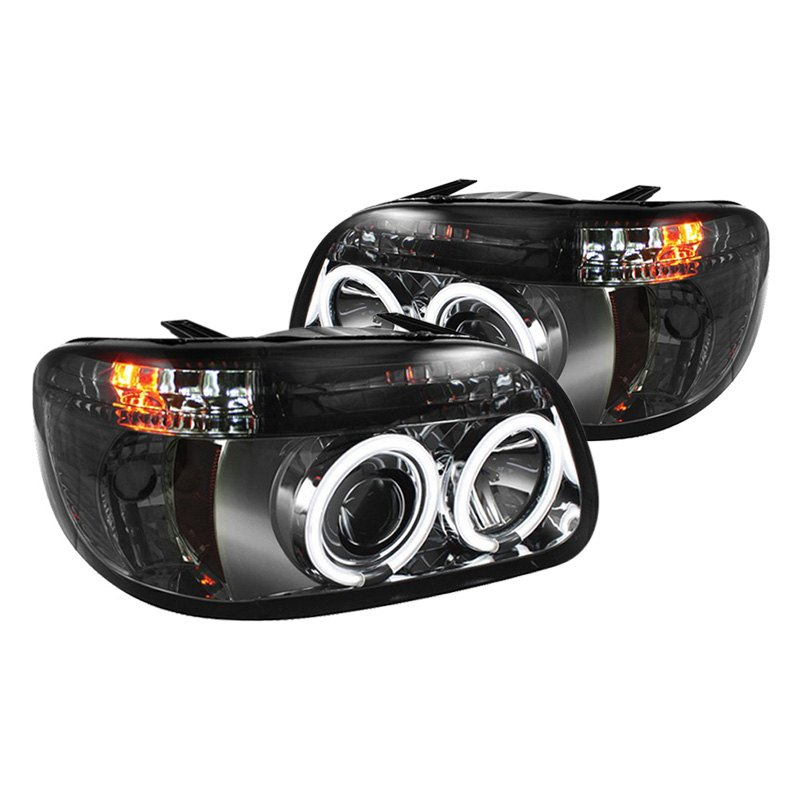 Spyder pro yd fexp95 ccfl 1pc sm chrome smoke ccfl halo for Miroir 50in projector review