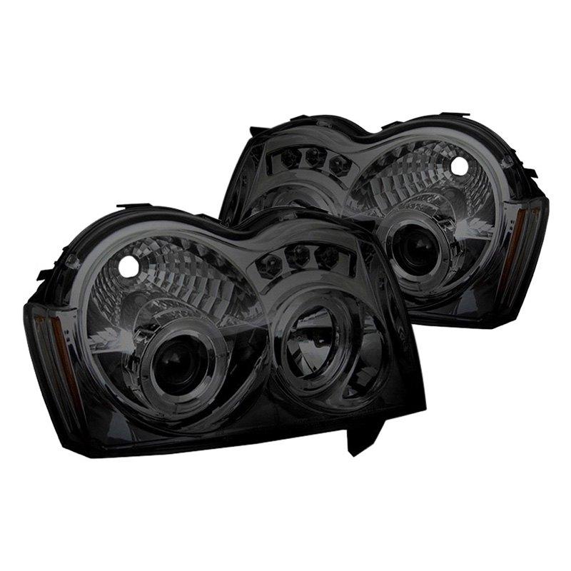 Spyder U00ae  Smoke Halo Projector Led Headlights