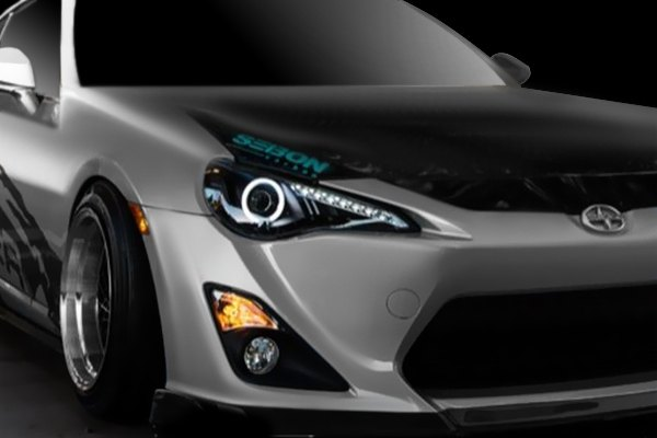 Spyder® - Subaru BRZ 2013-2014 Black Halo Projector ...