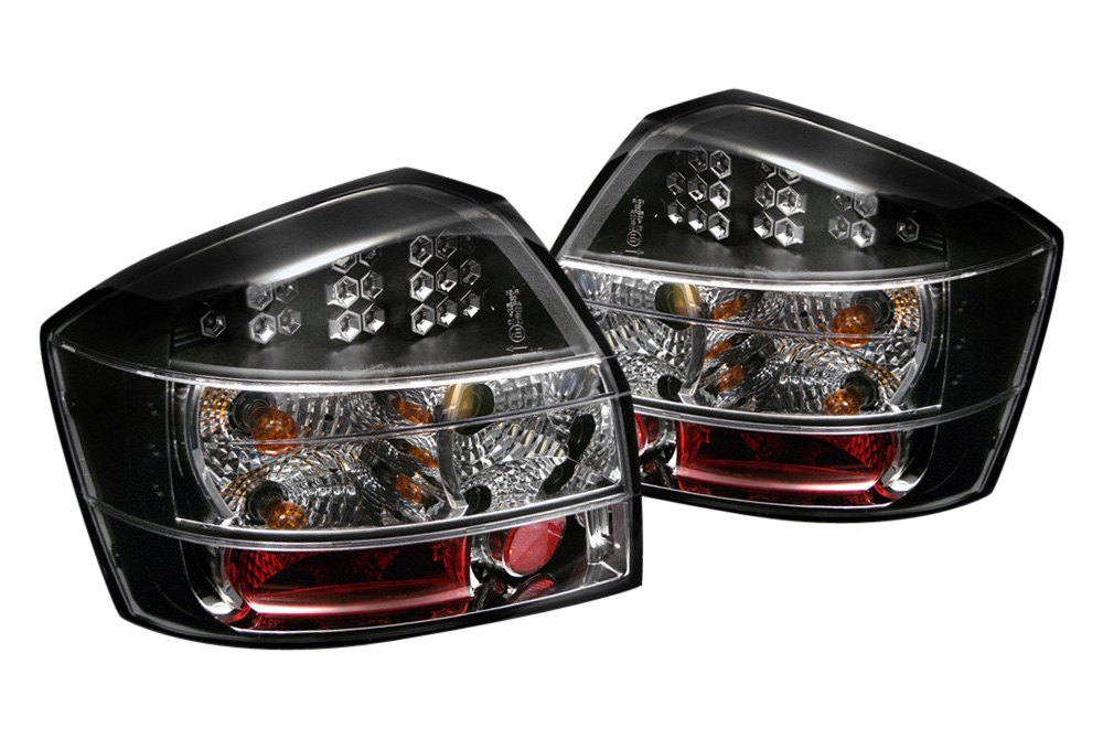 spyder alt yd aa402 led bk 5000026 black led tail lights. Black Bedroom Furniture Sets. Home Design Ideas