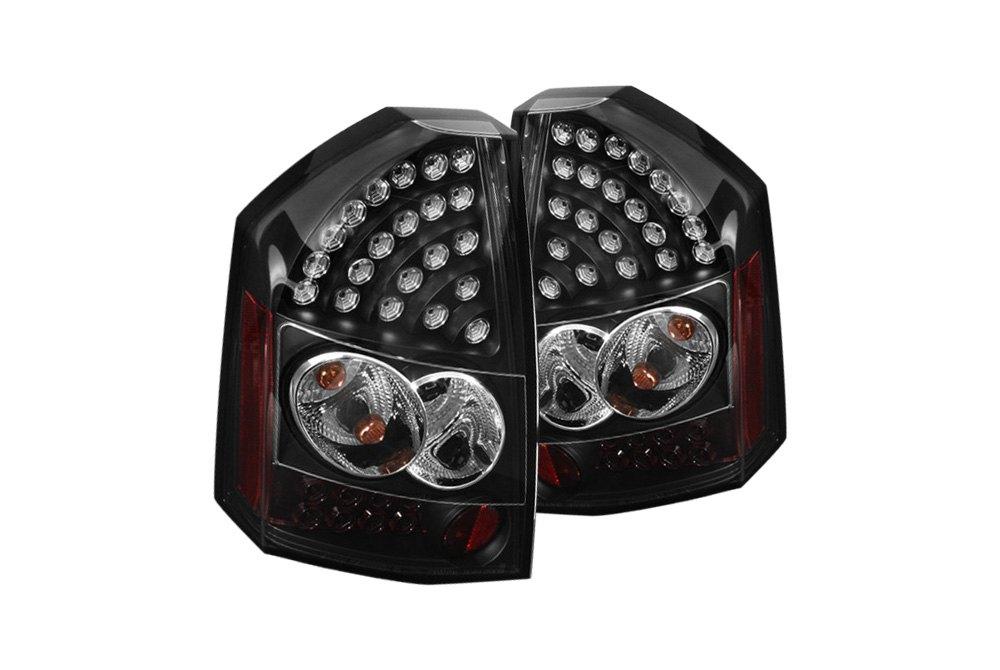 spyder alt yd c308 led bk 5034373 black led tail lights. Black Bedroom Furniture Sets. Home Design Ideas