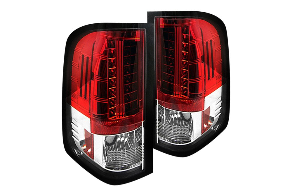 Red Truck Lamp : Custom led tail lights for trucks autos post