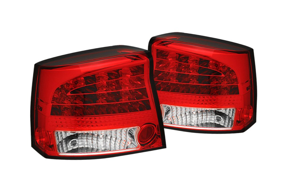 spyder 111 dch05 led rc dodge charger 2007 red clear. Black Bedroom Furniture Sets. Home Design Ideas