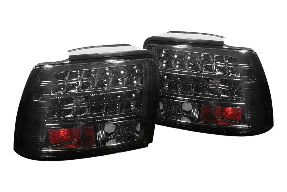 spyder alt yd fm99 led sm 5003720 smoke led tail lights. Black Bedroom Furniture Sets. Home Design Ideas