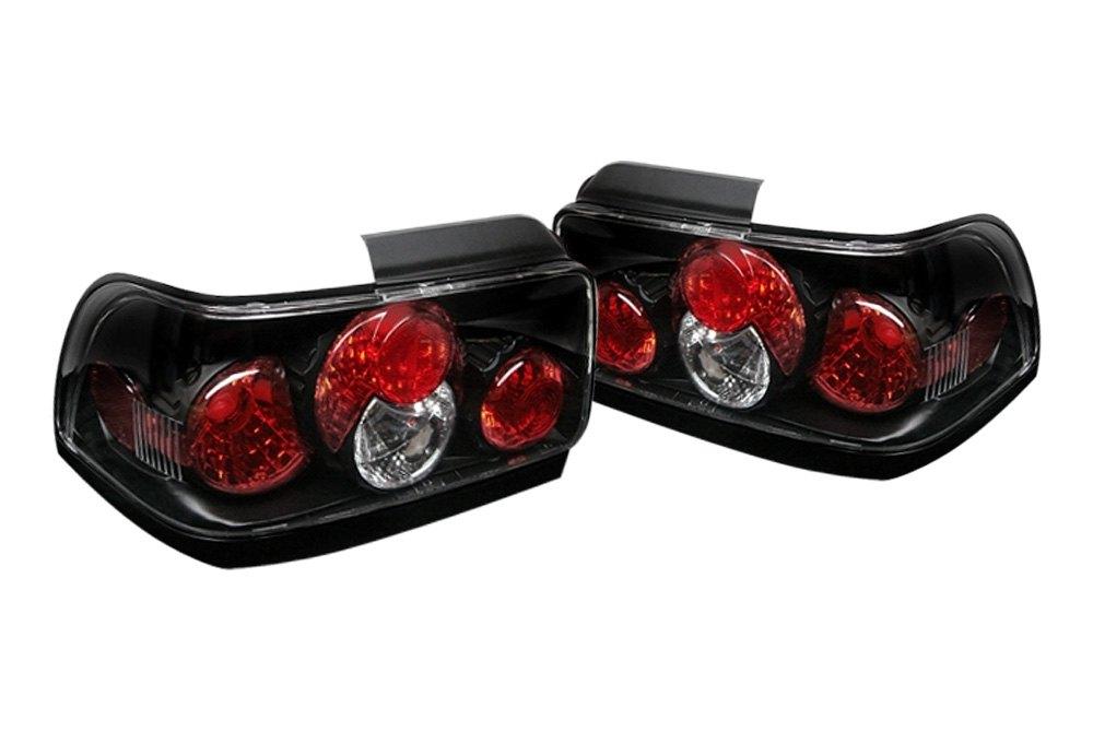 spyder alt yd tc93 bk 5007407 black euro tail lights. Black Bedroom Furniture Sets. Home Design Ideas