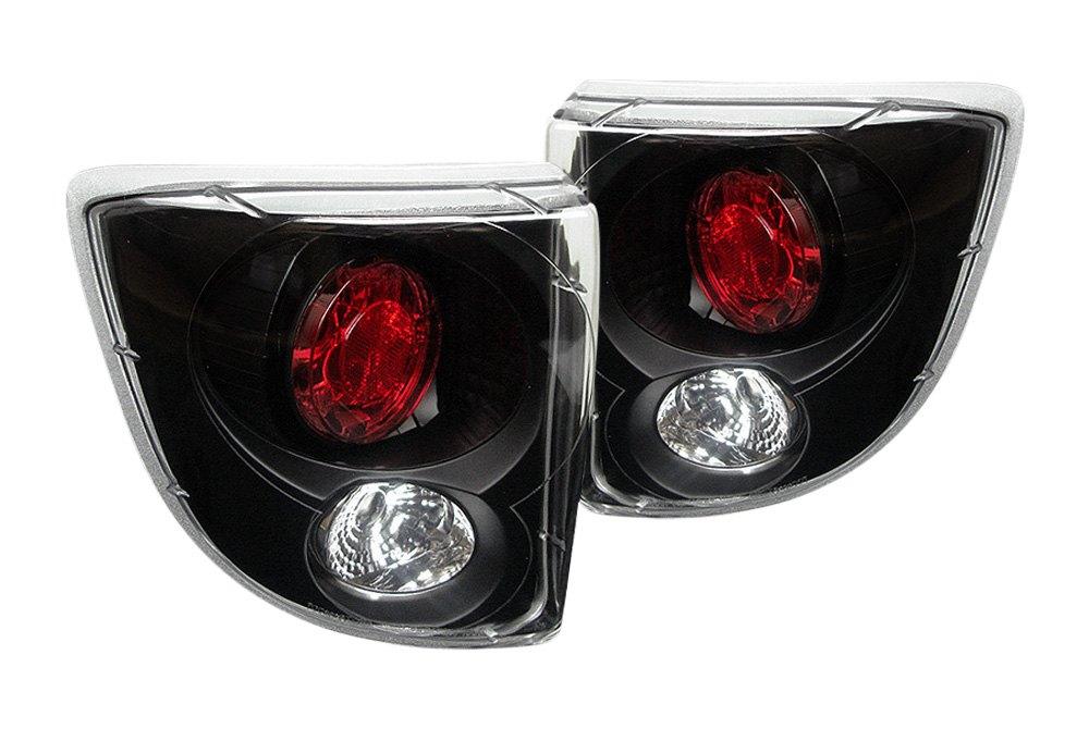 spyder alt yd tcel00 bk 5007506 black euro tail lights. Black Bedroom Furniture Sets. Home Design Ideas