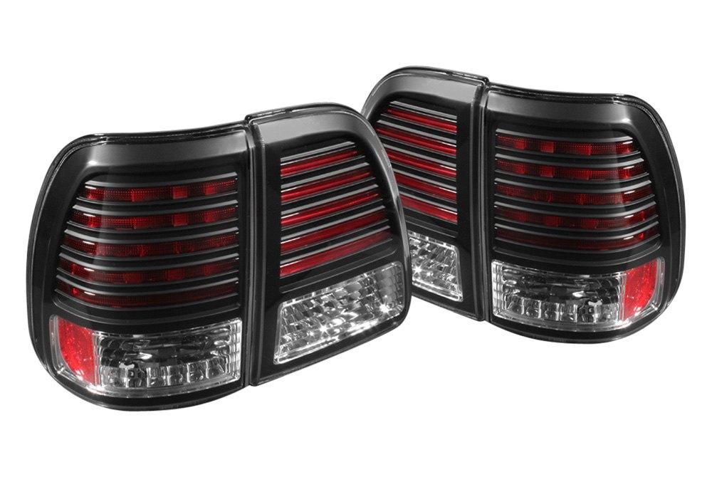 spyder alt yd tlan98 led bk 5007537 black led tail lights. Black Bedroom Furniture Sets. Home Design Ideas