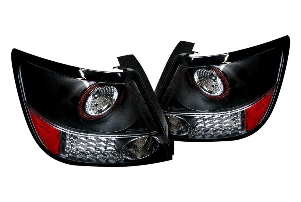 spyder alt yd tstc04 led bk 5007704 black led tail lights. Black Bedroom Furniture Sets. Home Design Ideas