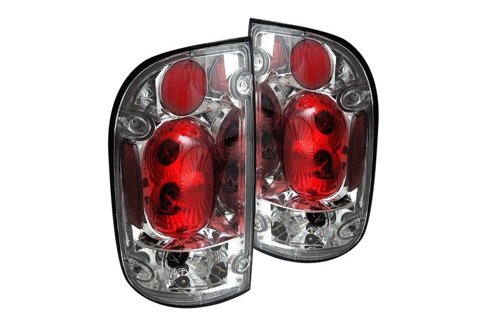 spyder alt yd tt01 c 5007841 chrome euro tail lights. Black Bedroom Furniture Sets. Home Design Ideas
