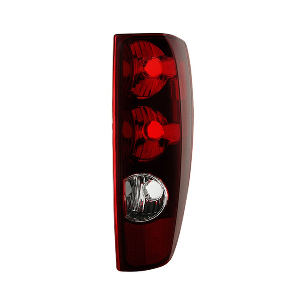 Spyder chevy colorado 2005 chrome red oem style tail lights - 2005 chevy colorado interior parts ...
