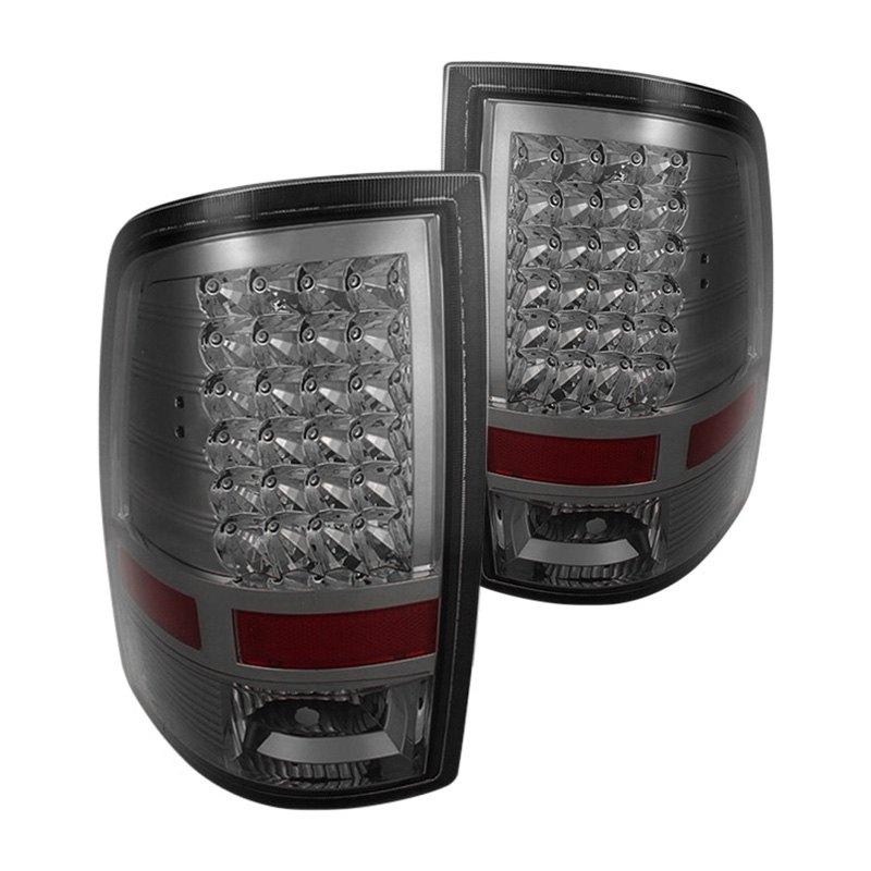 spyder alt jh dr09 led sm smoke led tail lights spyder tail lights. Black Bedroom Furniture Sets. Home Design Ideas
