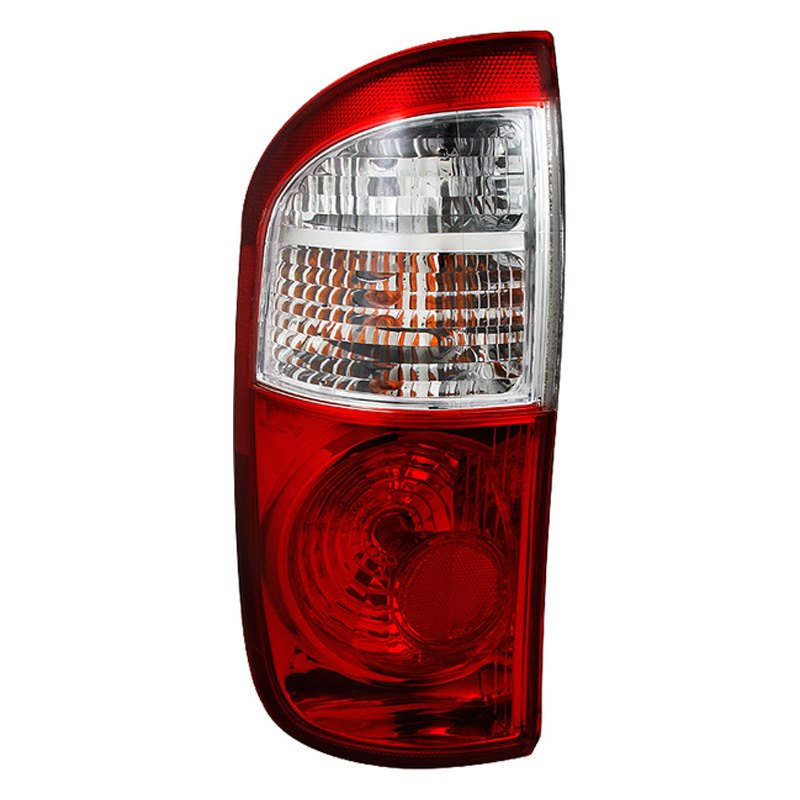 spyder toyota tundra 2004 chrome red oem style tail lights. Black Bedroom Furniture Sets. Home Design Ideas