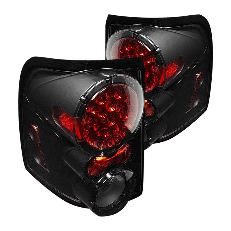 spyder alt on fexp02 led bk 5012845 black led tail lights. Black Bedroom Furniture Sets. Home Design Ideas