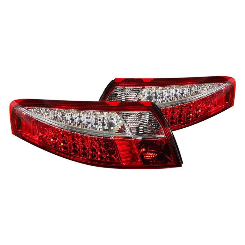 spyder alt on p99699 led rc red clear led tail lights. Black Bedroom Furniture Sets. Home Design Ideas