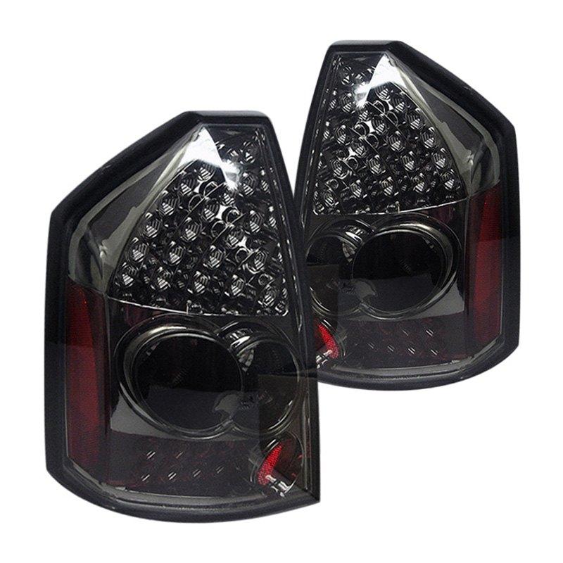 spyder alt yd chr305 led sm chrome smoke led tail lights. Black Bedroom Furniture Sets. Home Design Ideas