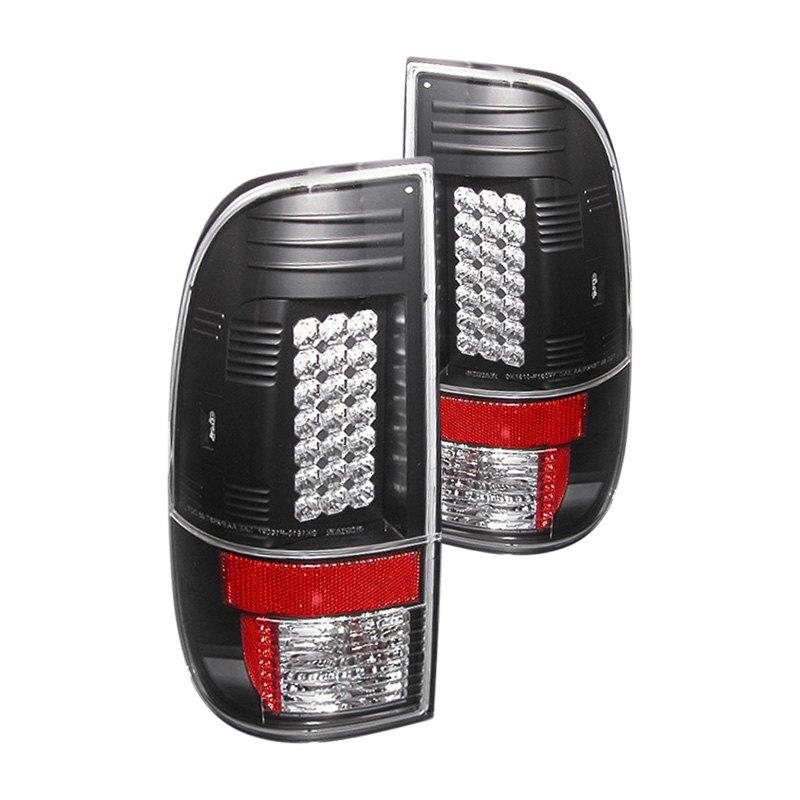 spyder alt yd fs07 led bk black led tail lights. Black Bedroom Furniture Sets. Home Design Ideas
