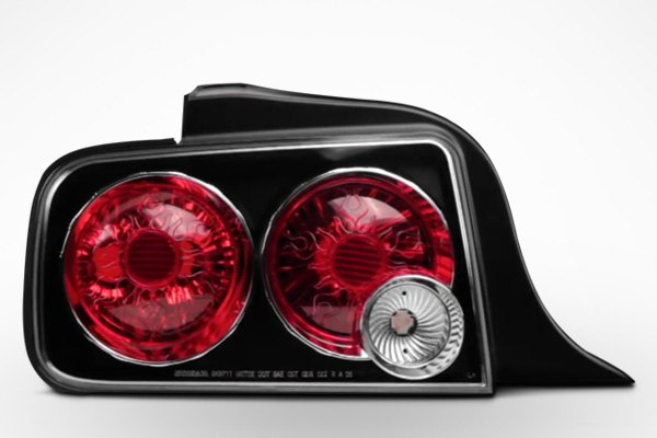 Spyder® - 2005-2009 Ford Mustang Euro Style Tail Lights