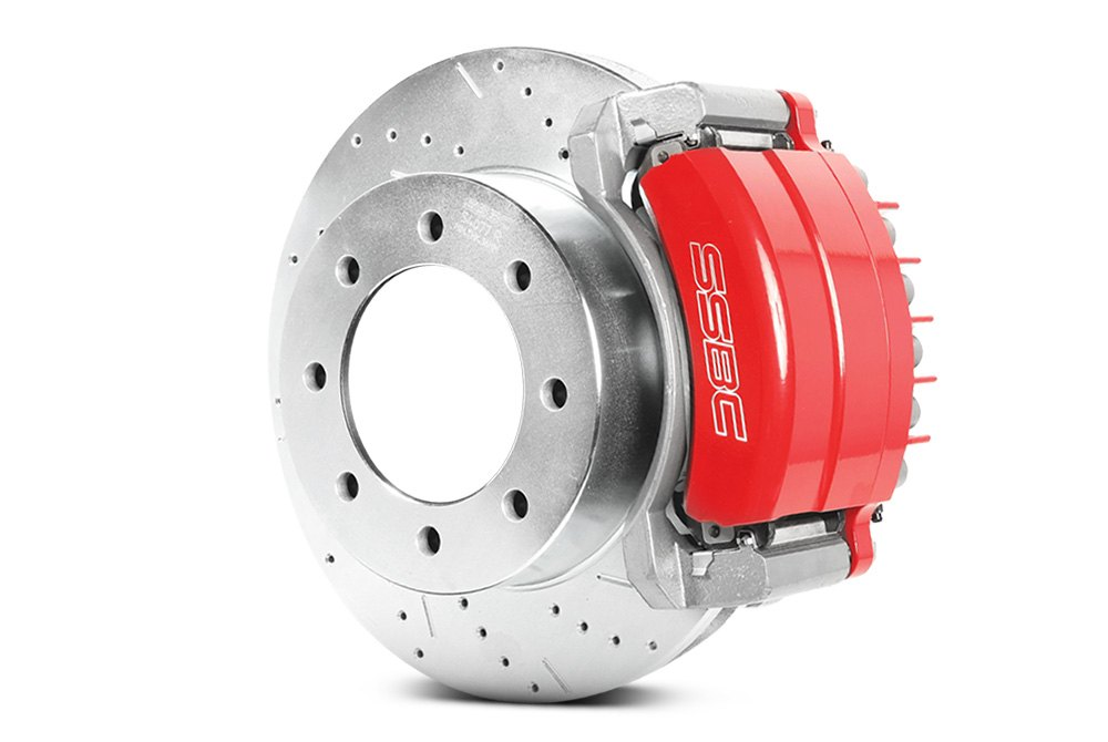 SSBC 1603981 Big Bite D398 Brake Pad Stainless Steel Brakes
