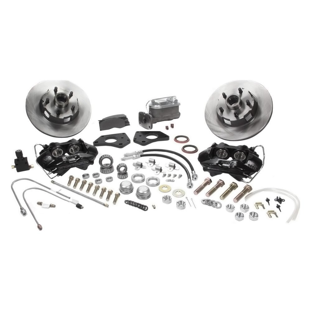 Ssbc Dodge Charger With 14 Wheels 1968 Brake Kit System Related Parts Calipers Stainless Steel Sleeved Front Disc