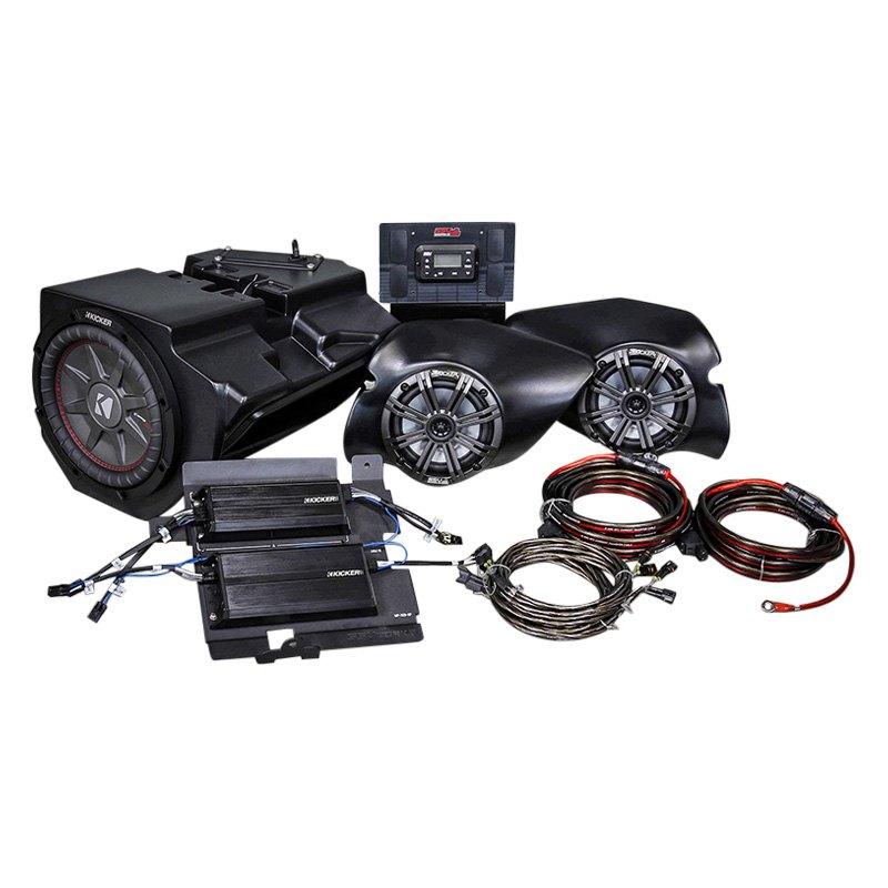 SSV Works Front Speaker Pods Enclosures 2014-2019 Polaris RZR XP1000 Turbo S
