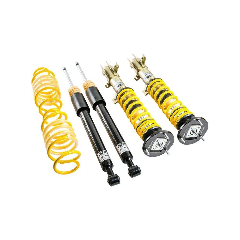 st suspensions st xta coilover lowering kit. Black Bedroom Furniture Sets. Home Design Ideas