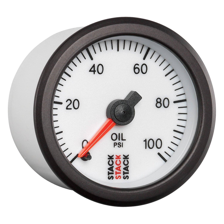Stack® - Professional Stepper Motor Oil Pressure Gauge