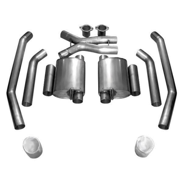 Stainless Works® 04GTOTM05RB - 304 SS Turbo S-Tube Dual ...