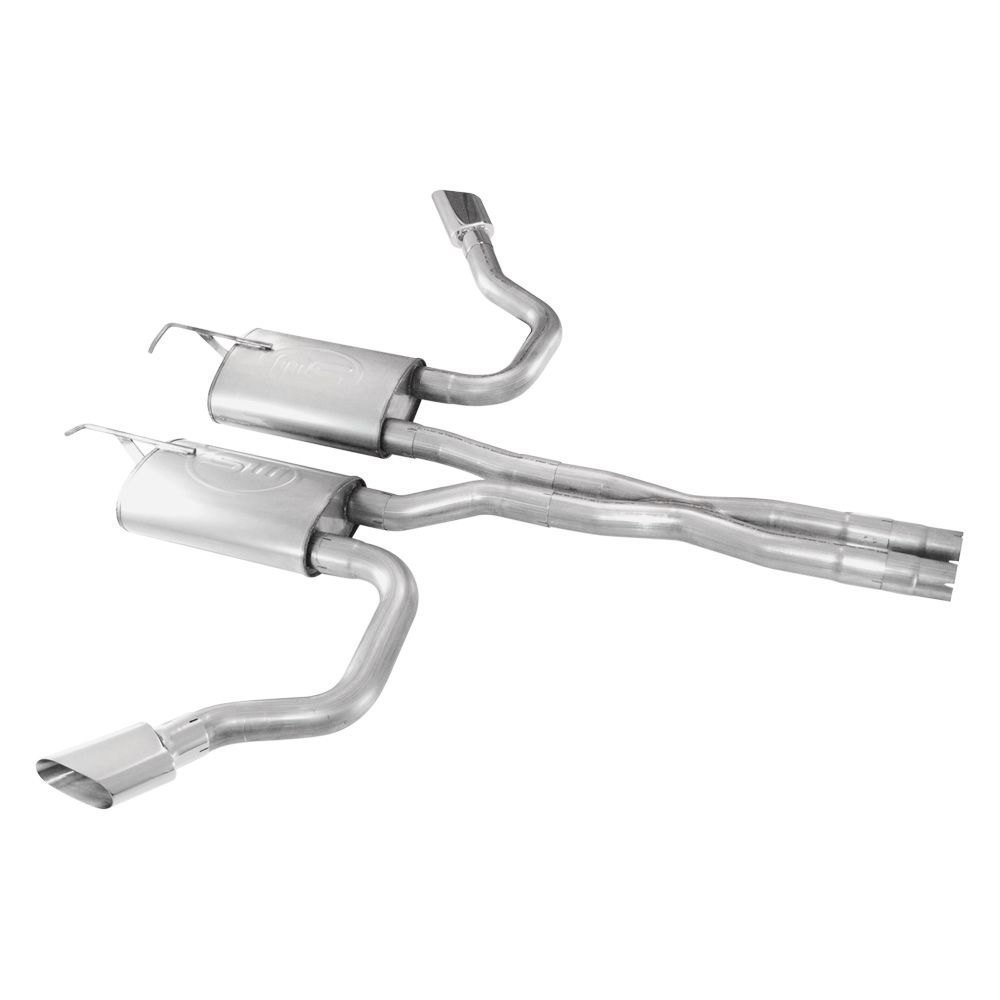 Stainless Works® - Dodge Challenger 2008 304 SS Dual Cat ...