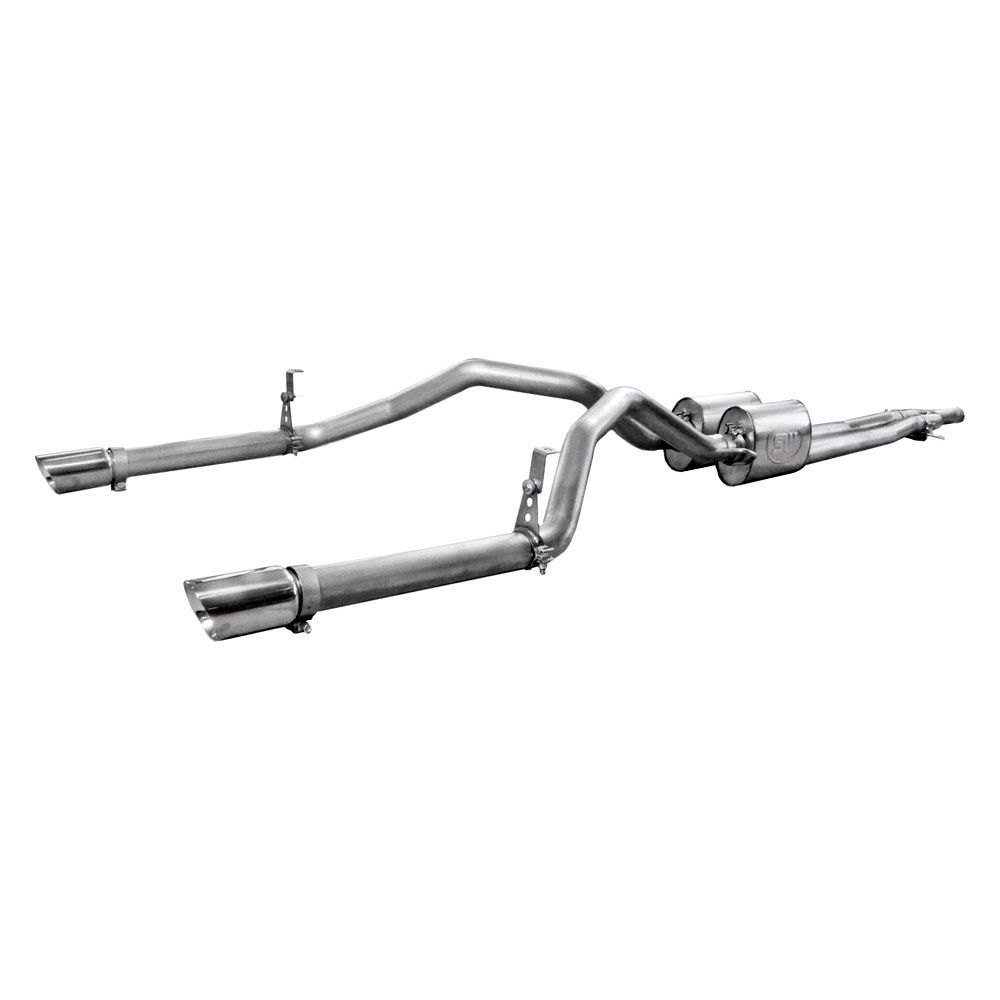 chevy silverado exhaust performance systems