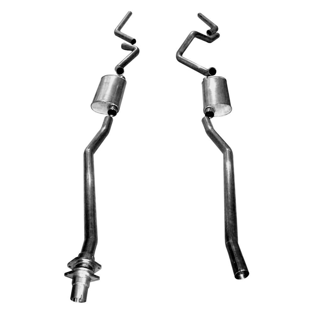 Stainless Works® CT9806 - 304 SS Turbo S-Tube Dual Cat ...
