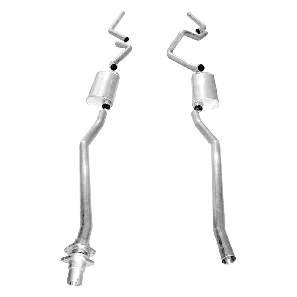 Stainless Works® CT9806SE - 304 SS Turbo S-Tube Dual Cat ...