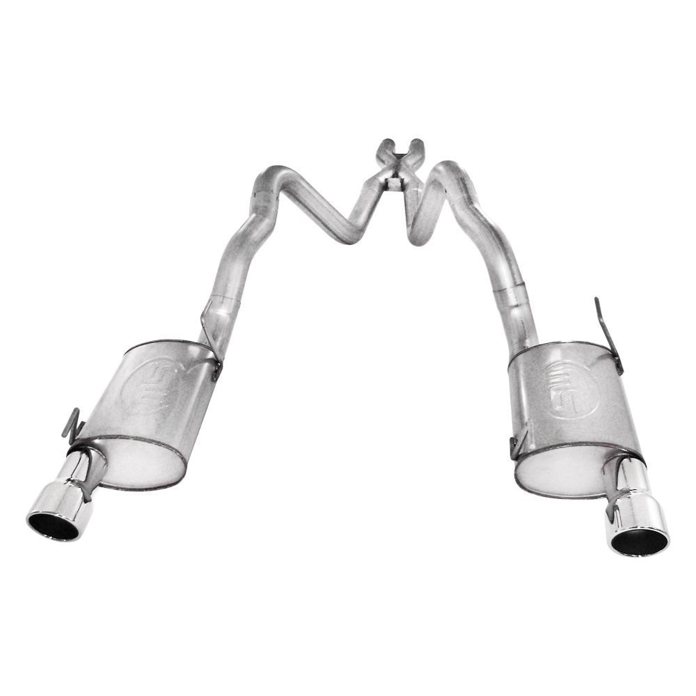 Stainless Works® M05CB3L - 304 SS Turbo S-Tube Dual Cat ...