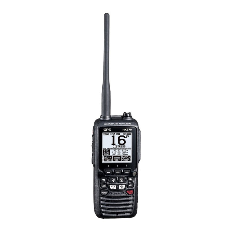 standard horizon hx870 6w handheld vhf radio with gps. Black Bedroom Furniture Sets. Home Design Ideas