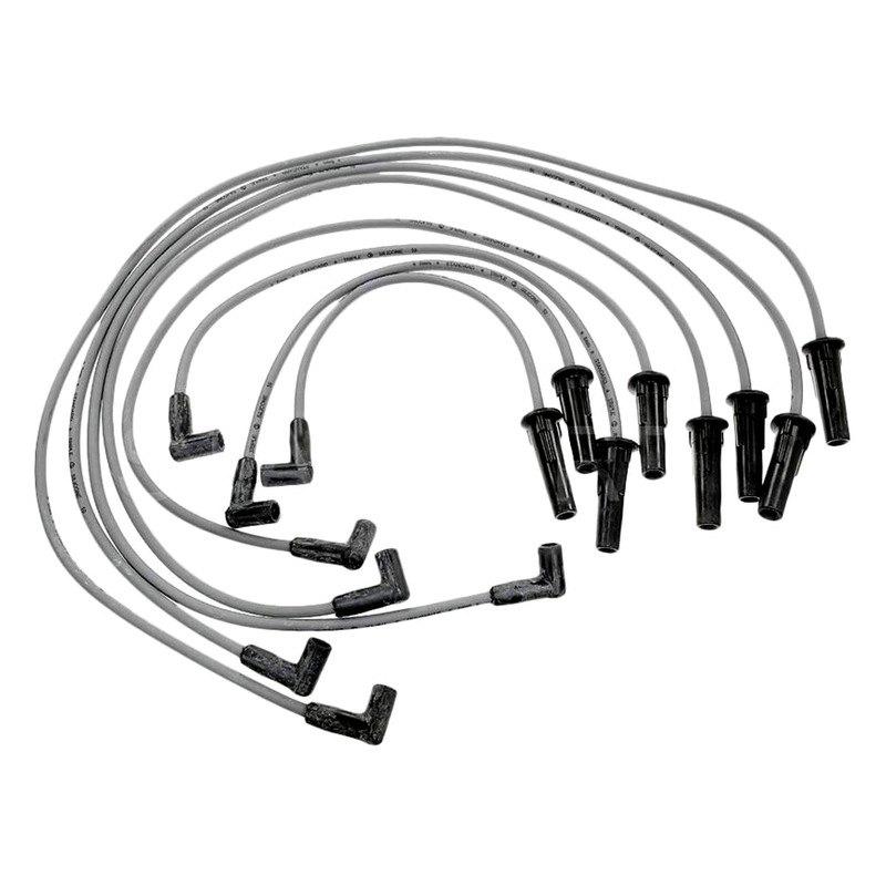 standard cadillac fleetwood 1980 1981 spark plug wire set. Black Bedroom Furniture Sets. Home Design Ideas