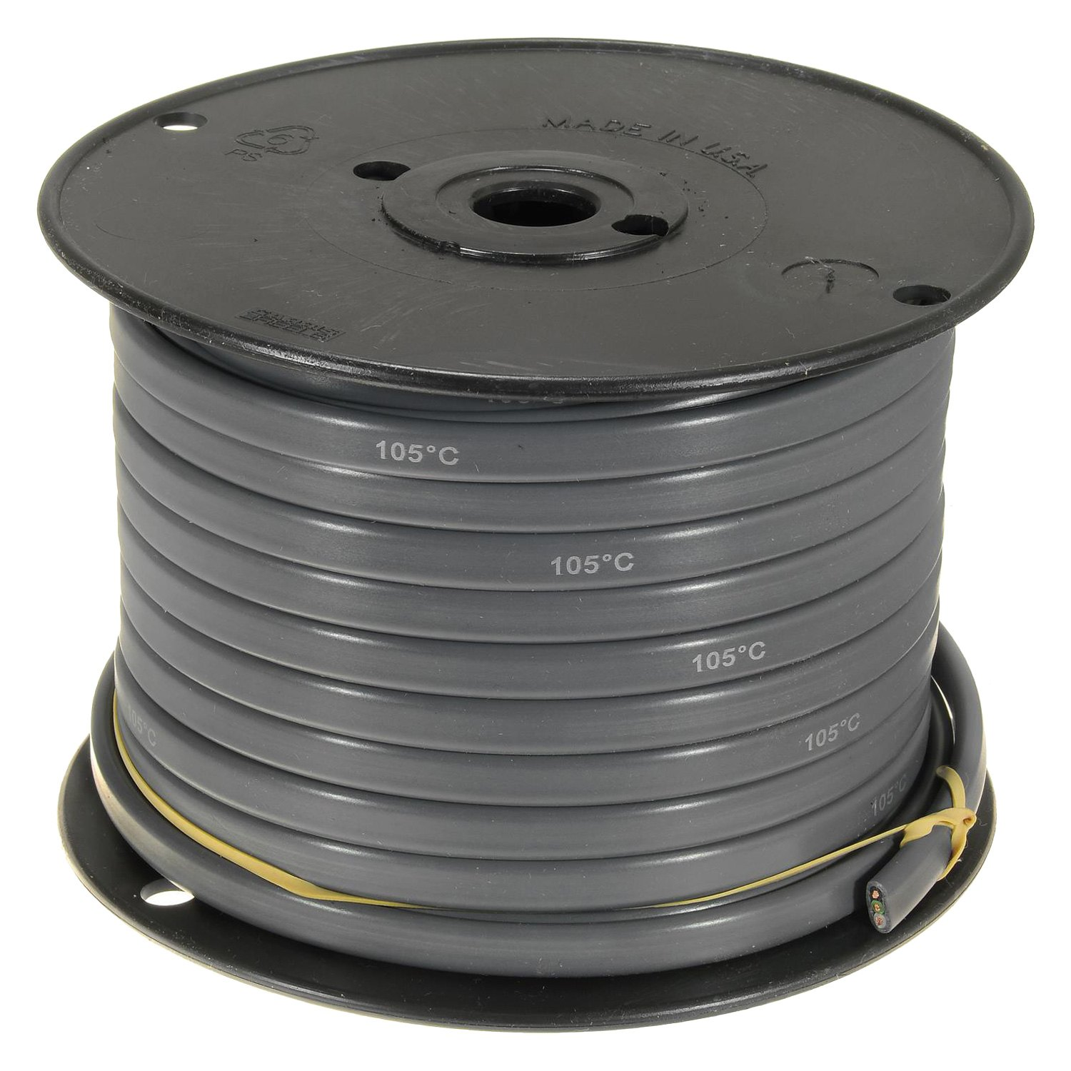 Standard® C12-3J - 12 Gauge 100\' Jacketed 3-Conductor Primary Wire