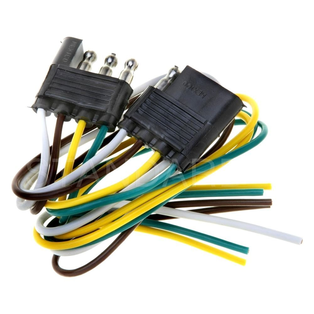 Standard Hp5300 Handypack 4 Pole Flat Molded Trailer Connector Wiring Workmanship Standards
